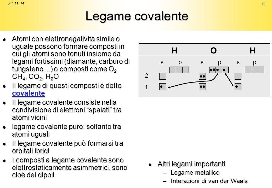 22.11.04Legame covalente.