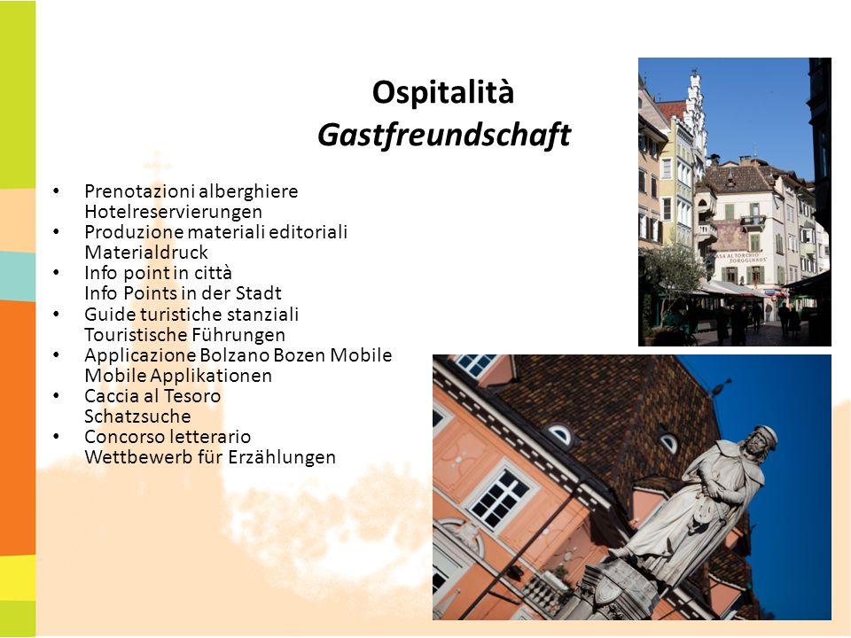 Ospitalità Gastfreundschaft