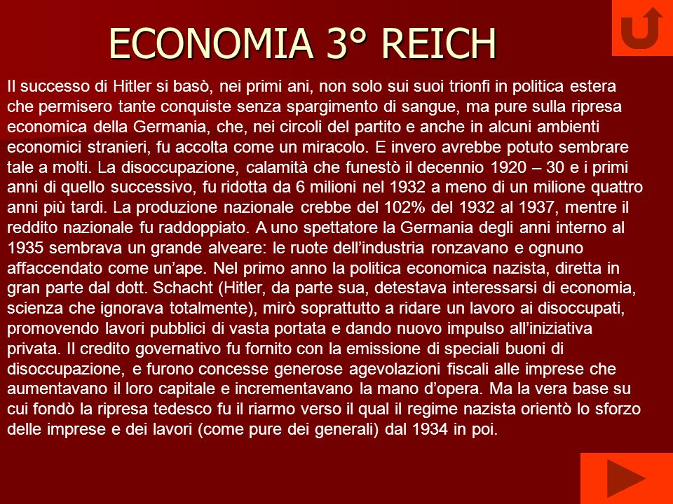 ECONOMIA 3° REICH