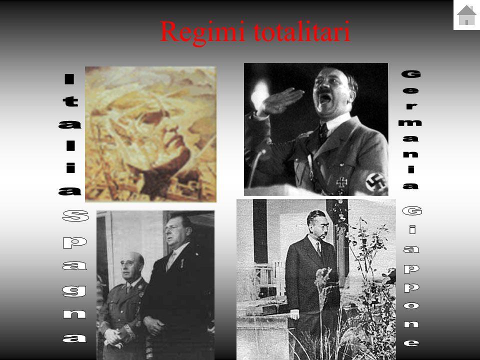 Regimi totalitari Germania Italia Spagna Giappone