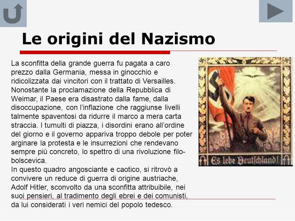 Le origini del Nazismo