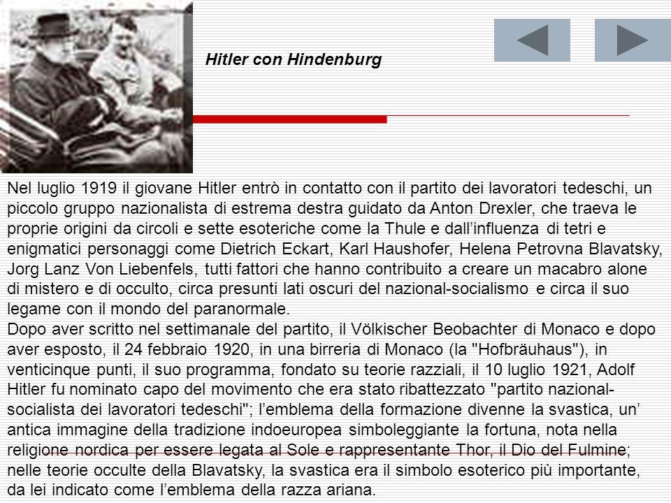 Hitler con Hindenburg