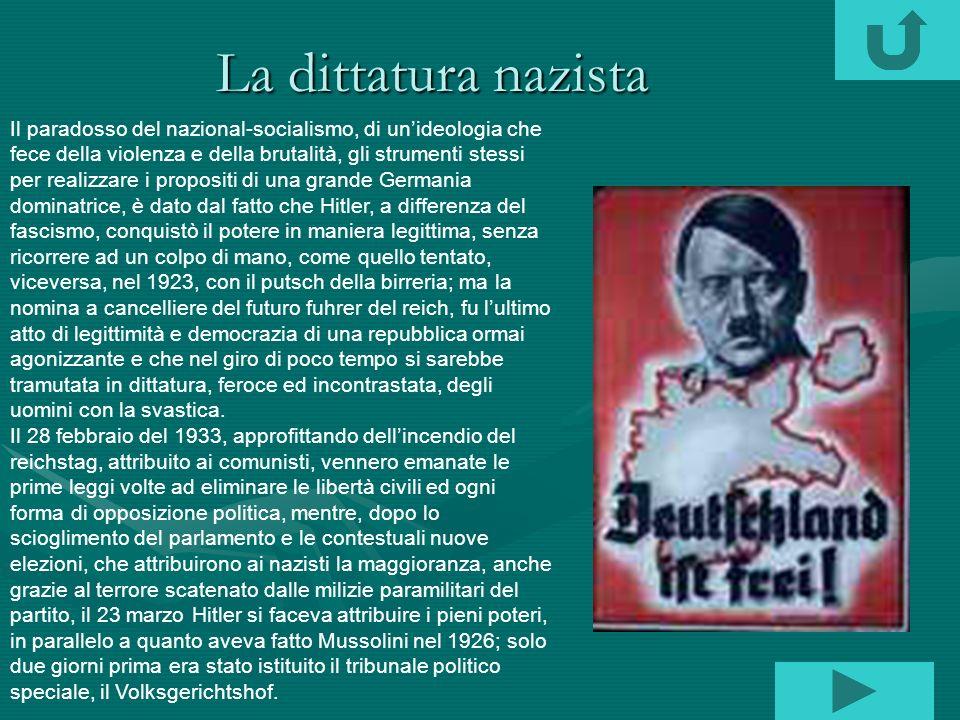 La dittatura nazista