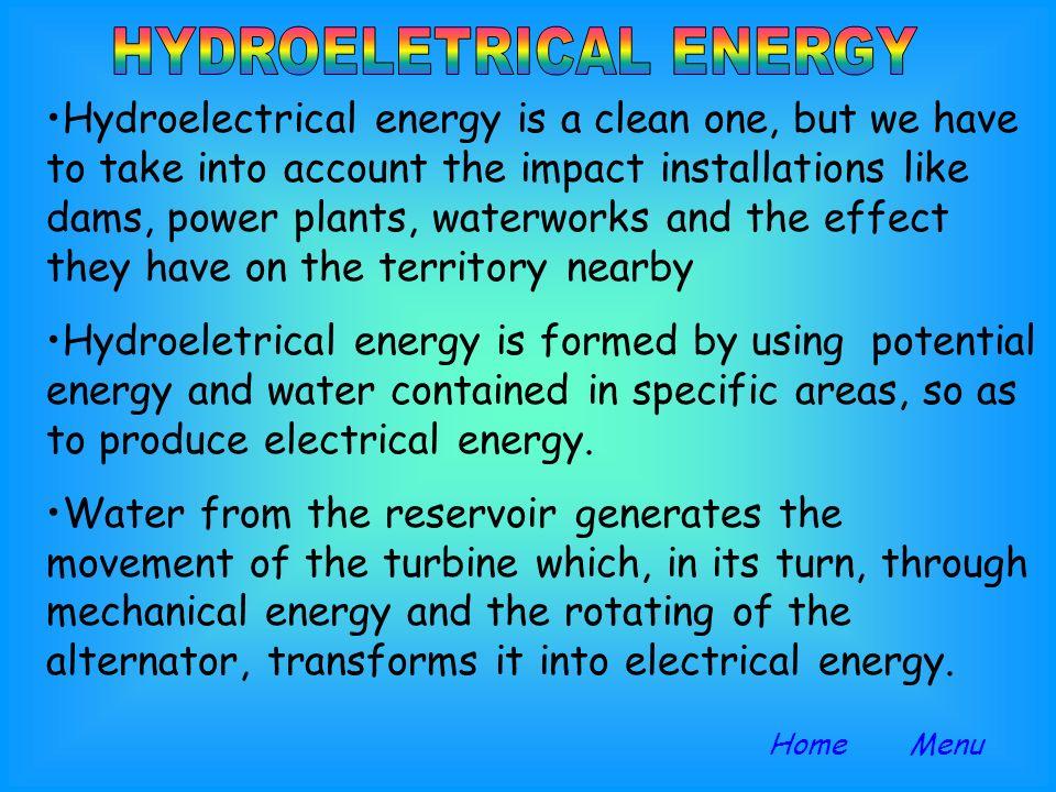 HYDROELETRICAL ENERGY