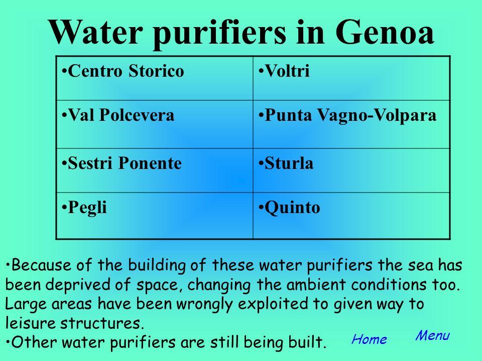 Water purifiers in Genoa