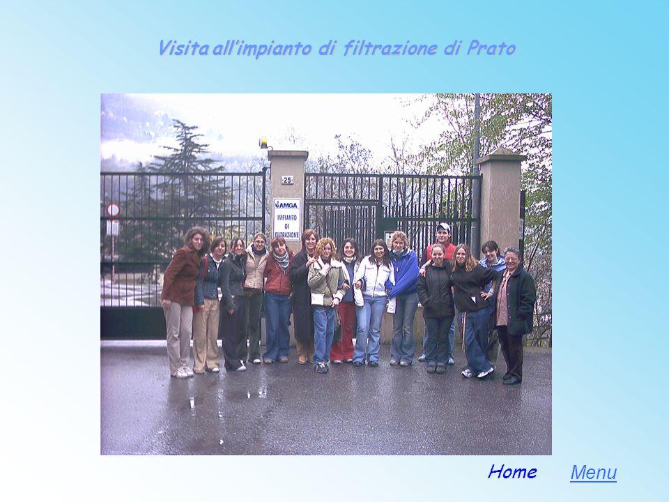 Visita all'impianto di filtrazione di Prato