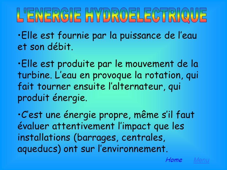 L ENERGIE HYDROELECTRIQUE
