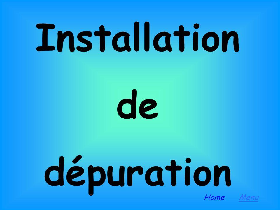 Installation de dépuration