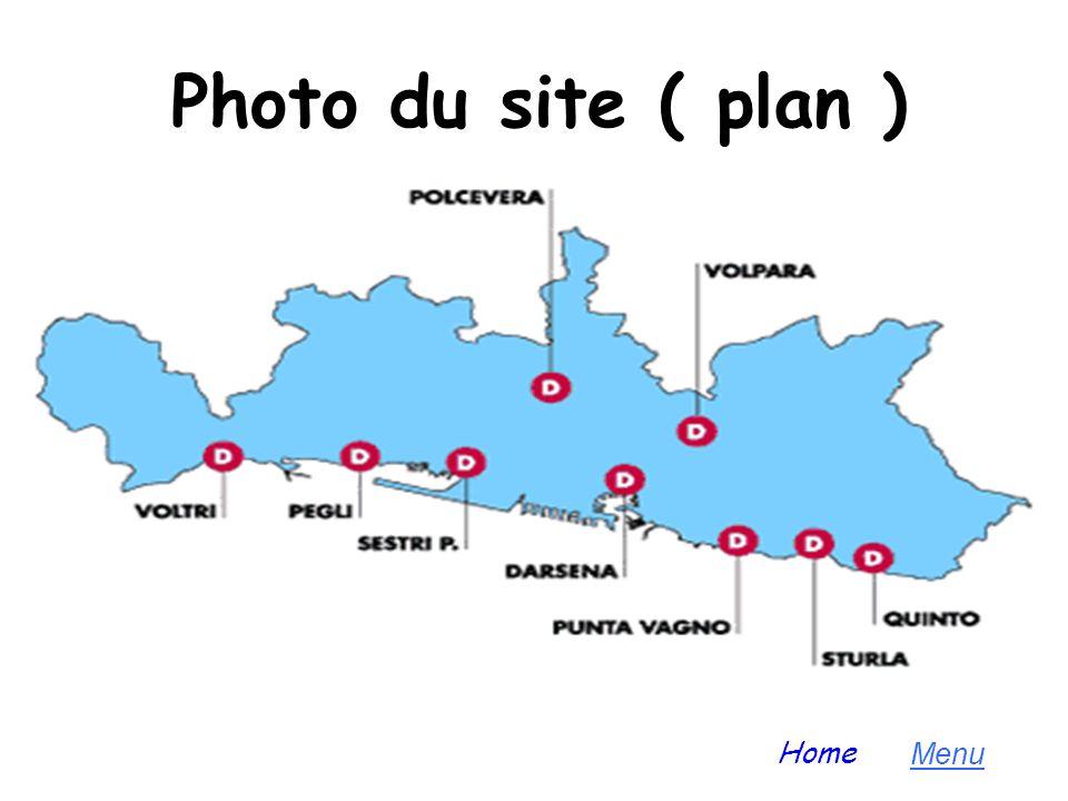 Photo du site ( plan ) Home Menu
