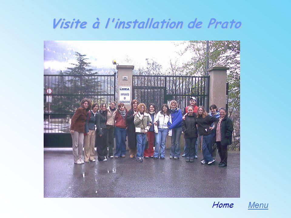 Visite à l installation de Prato