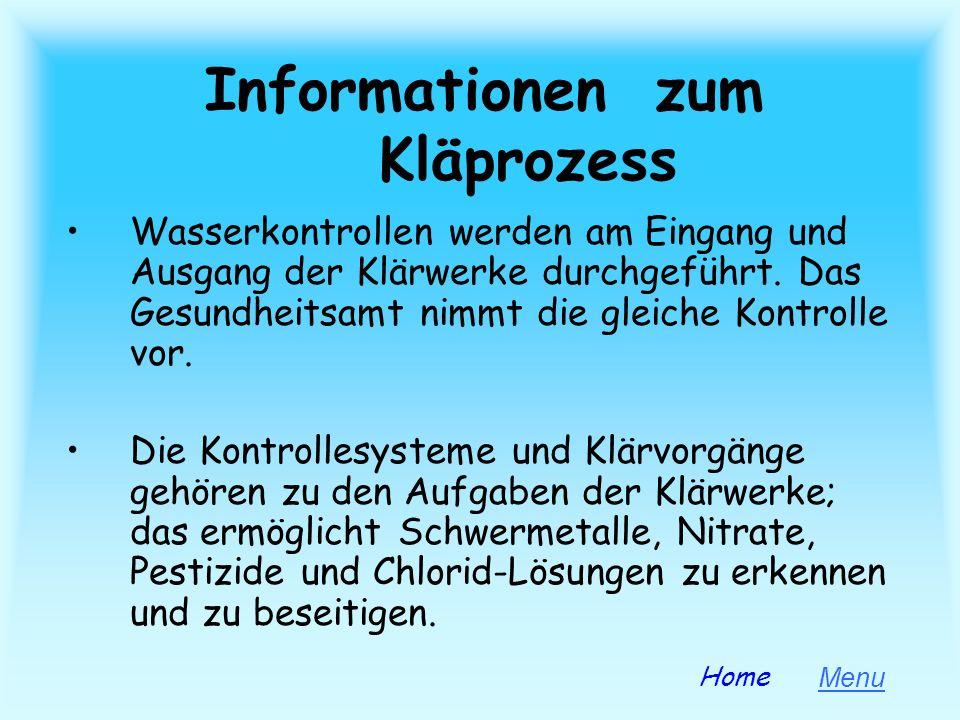 Informationen zum Kläprozess