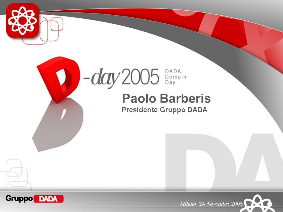 Paolo BarberisPresidente Gruppo DADA.