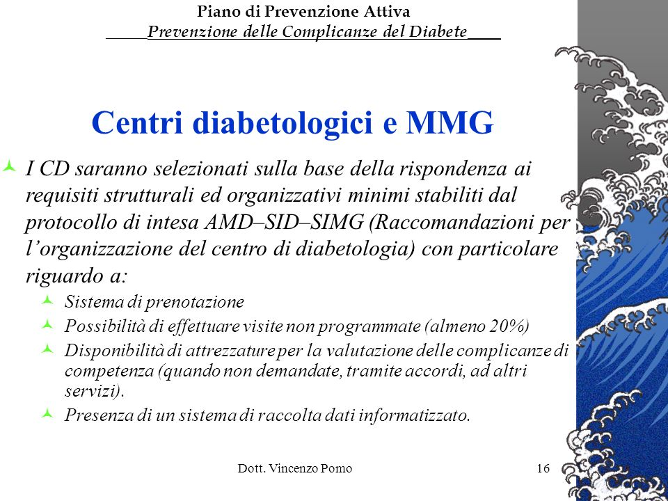 Centri diabetologici e MMG