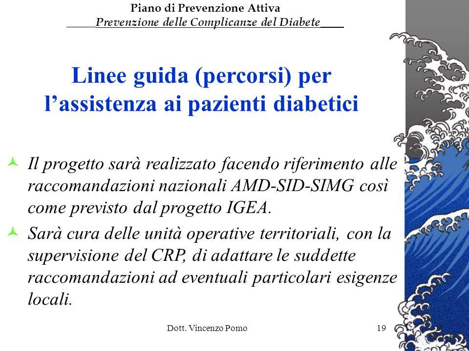 Linee guida (percorsi) per l'assistenza ai pazienti diabetici