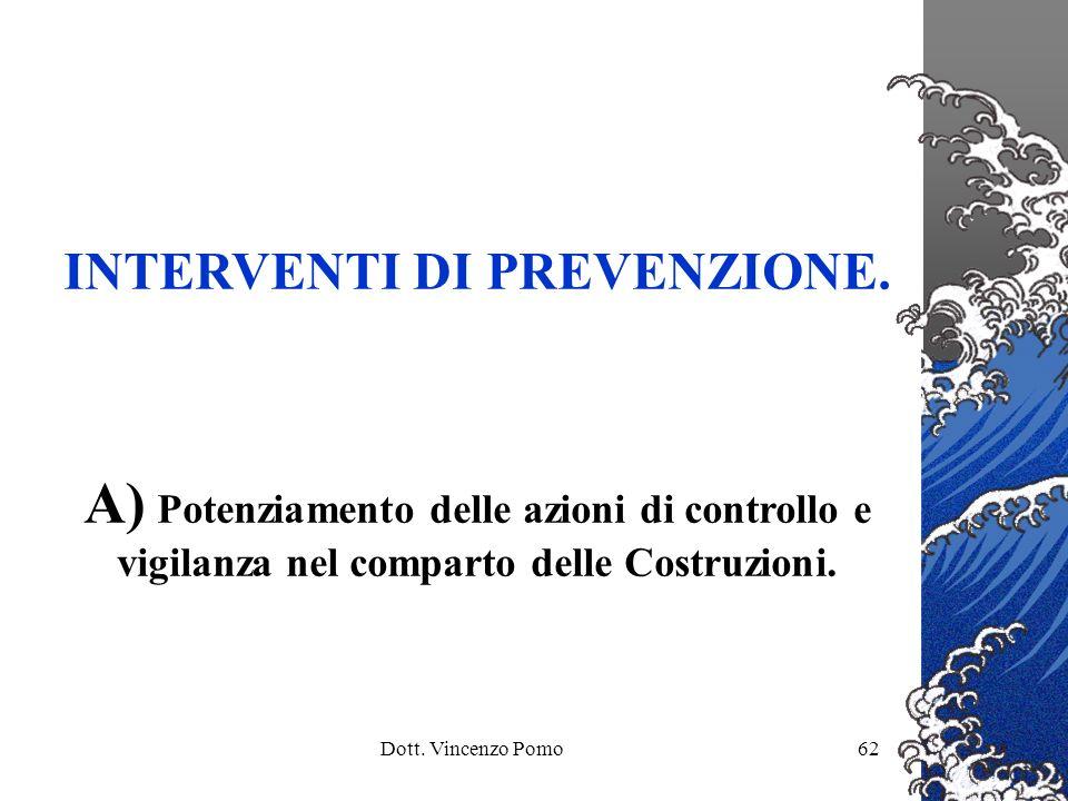 INTERVENTI DI PREVENZIONE.