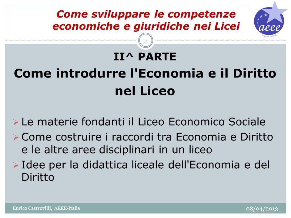 Come sviluppare le competenze economiche e giuridiche nei Licei