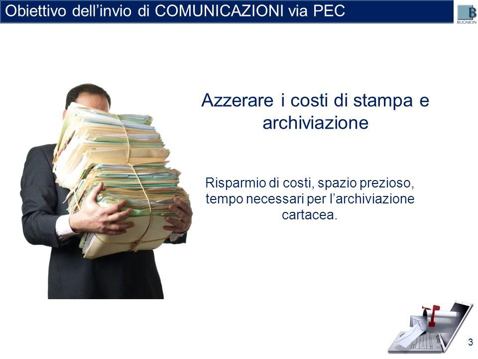 Azzerare i costi di stampa e archiviazione