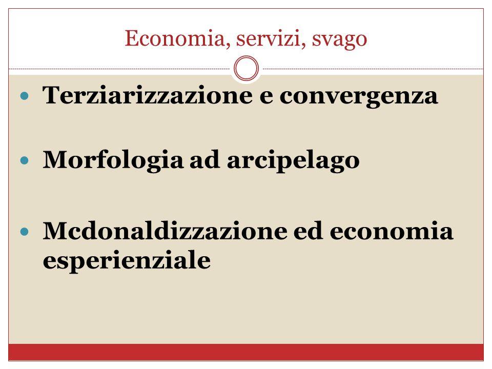 Economia, servizi, svago