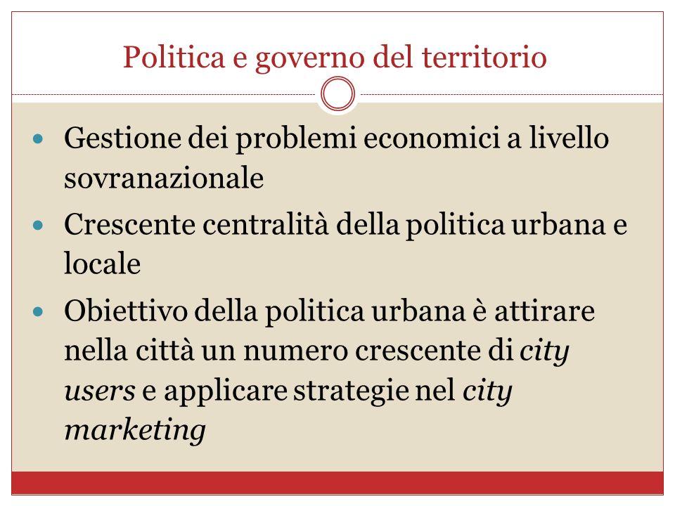 Politica e governo del territorio