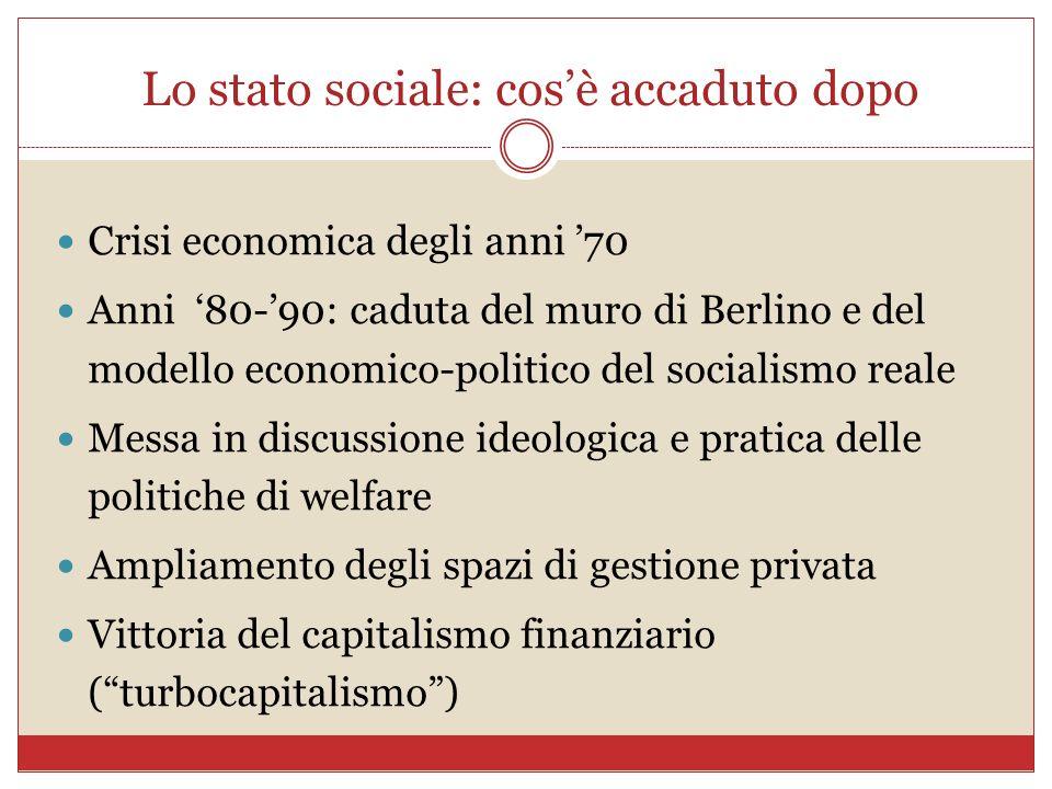 Lo stato sociale: cos'è accaduto dopo