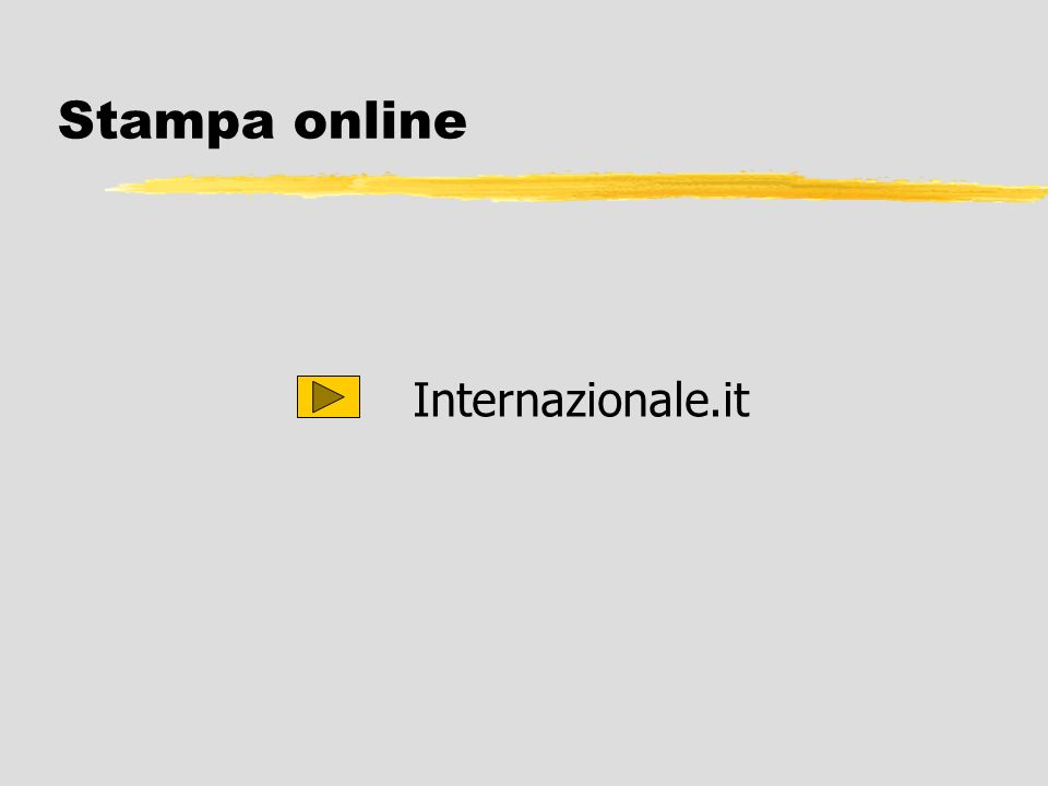 22/03/2017 Stampa online Internazionale.it