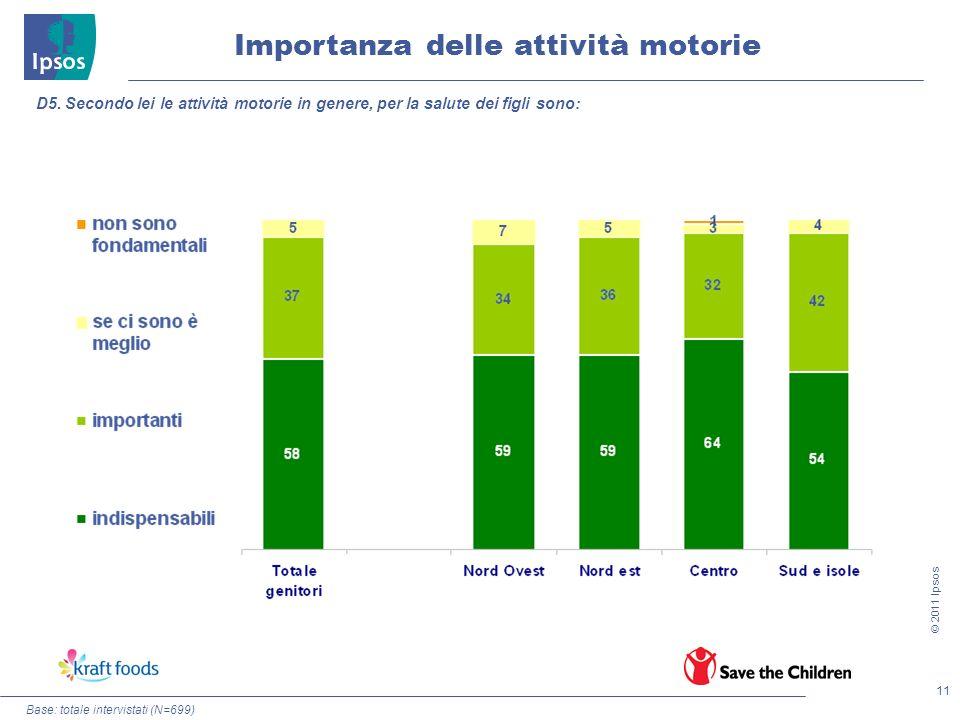 Importanza delle attività motorie