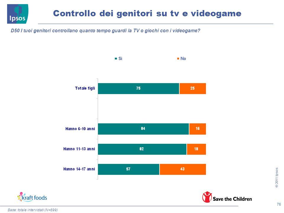 Controllo dei genitori su tv e videogame