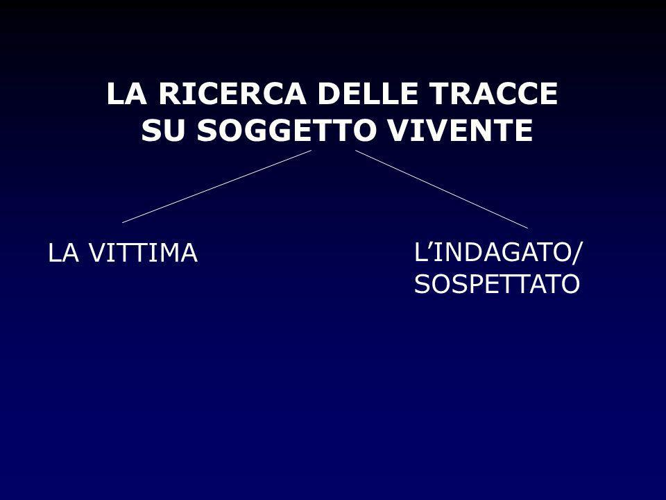 LA RICERCA DELLE TRACCE