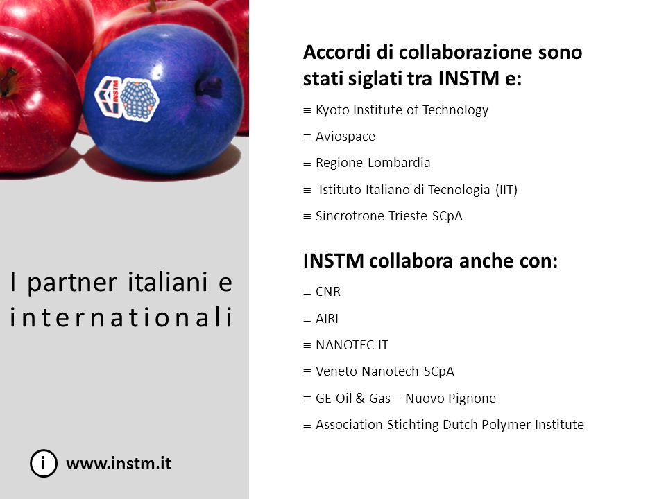 I partner italiani e internationali