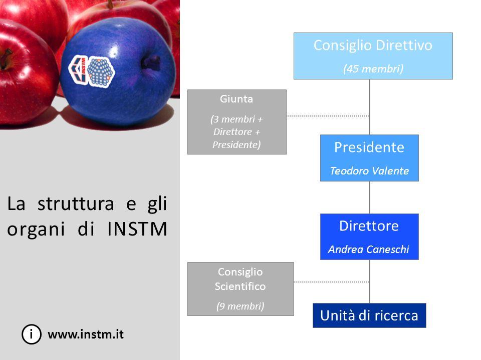 La struttura e gli organi di INSTM