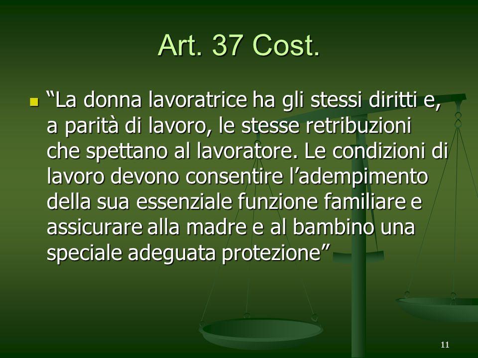 Art. 37 Cost.