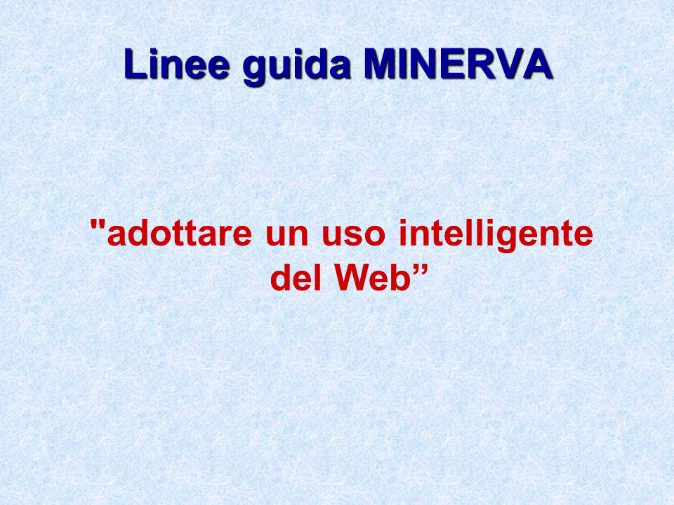 adottare un uso intelligente del Web