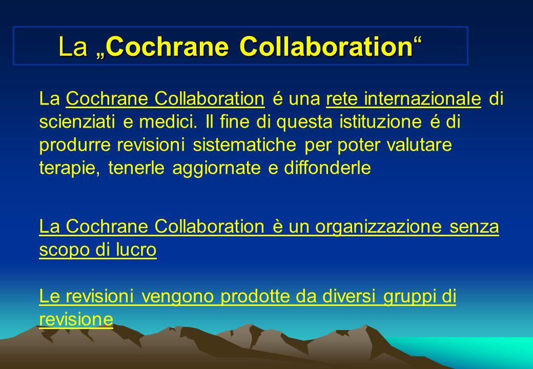 """La """"Cochrane Collaboration"""
