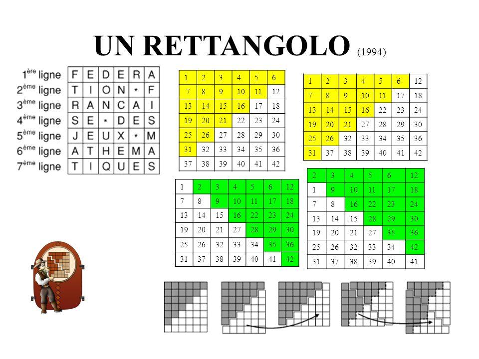 UN RETTANGOLO (1994) 1. 2. 3. 4. 5. 6. 7. 8. 9. 10. 11. 12. 13. 14. 15. 16. 17. 18.