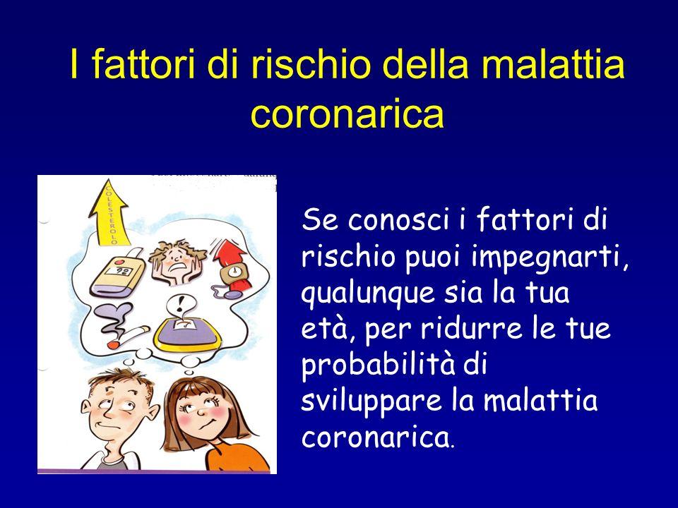 I fattori di rischio della malattia coronarica