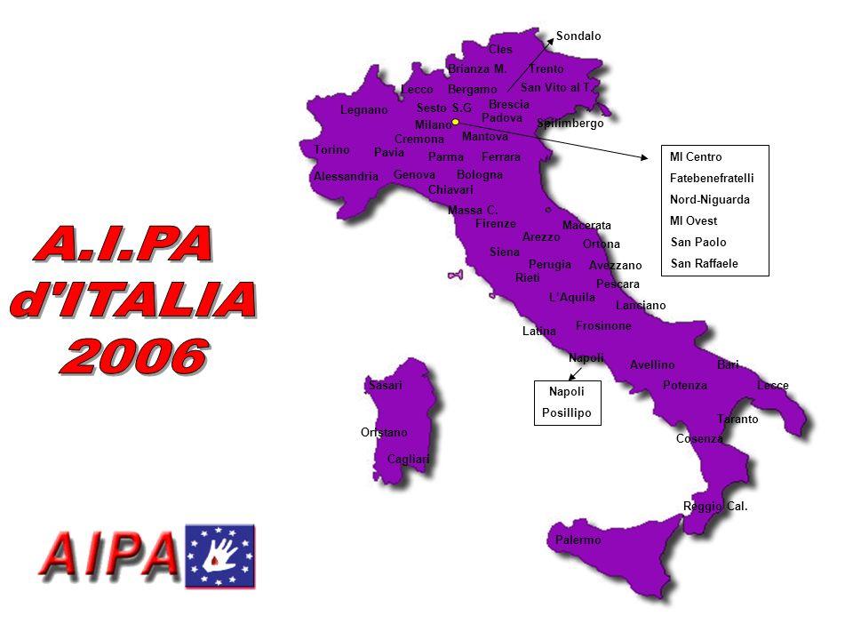 A.I.PA d ITALIA 2006 Cagliari Bari Lecce Taranto Cosenza Reggio Cal.