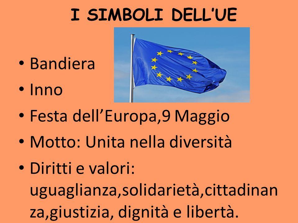 Festa dell'Europa,9 Maggio Motto: Unita nella diversità