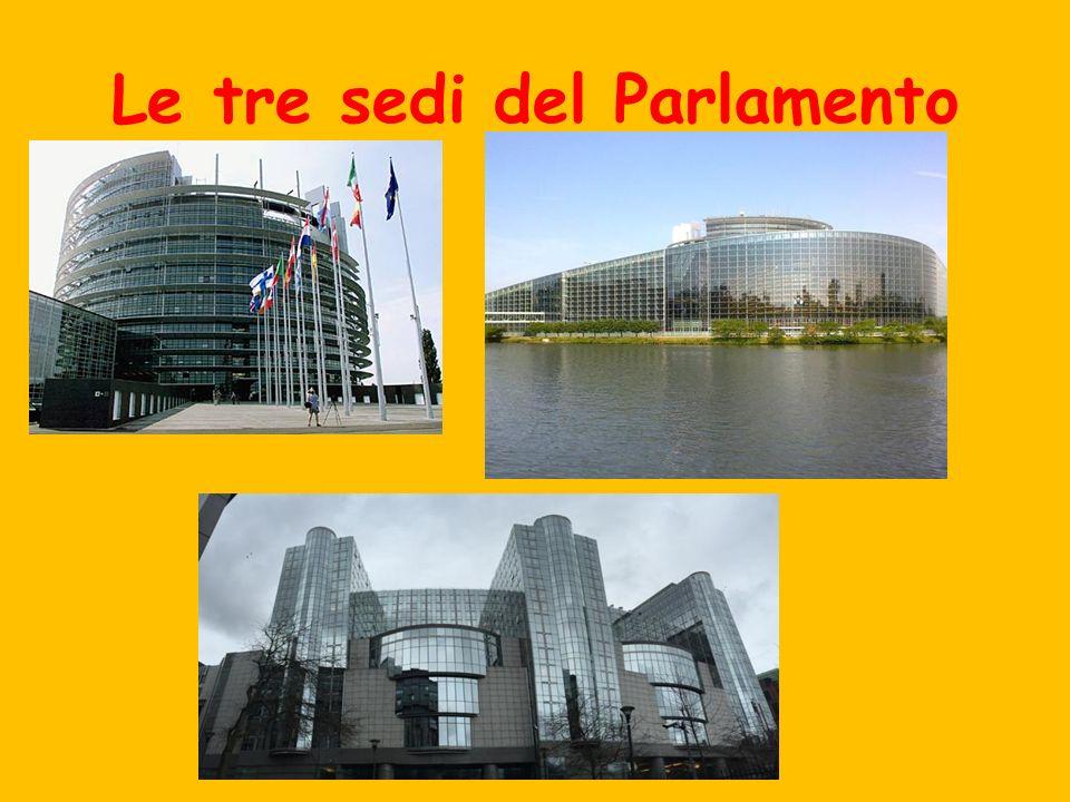 Le tre sedi del Parlamento