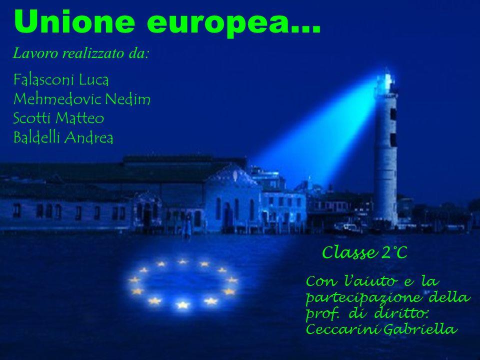 Unione europea… Lavoro realizzato da: Falasconi Luca Mehmedovic Nedim