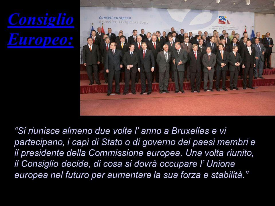 Consiglio Europeo: