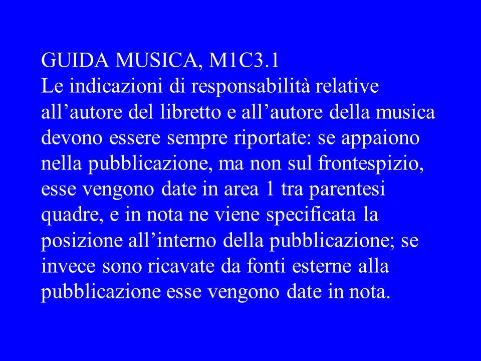 GUIDA MUSICA, M1C3.1