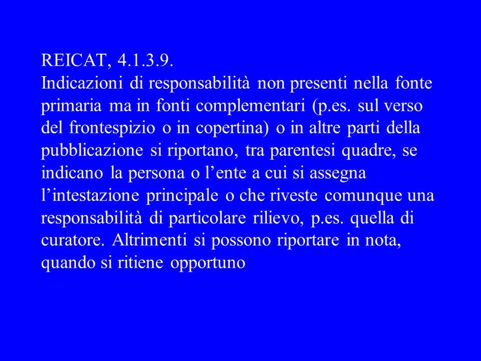 REICAT, 4.1.3.9.