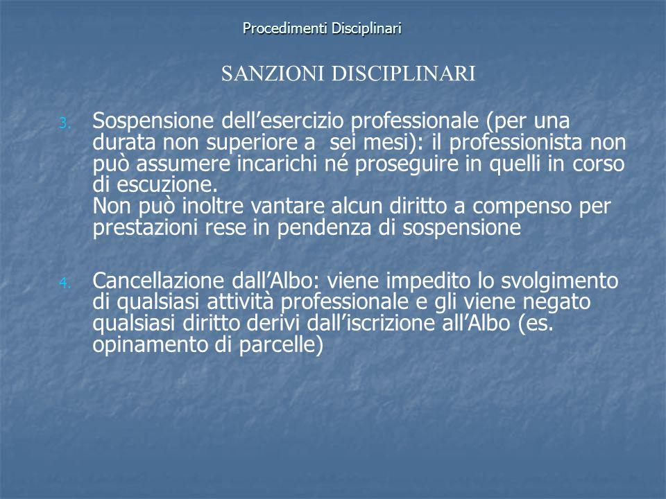 Procedimenti Disciplinari