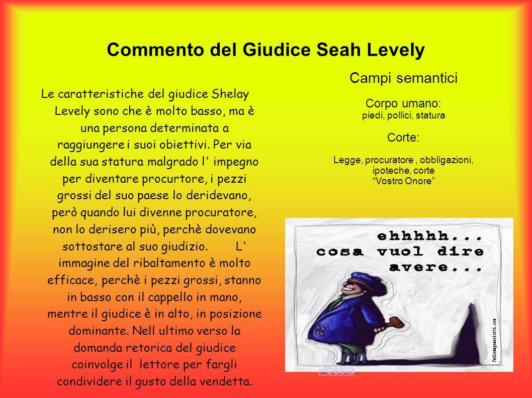 Commento del Giudice Seah Levely