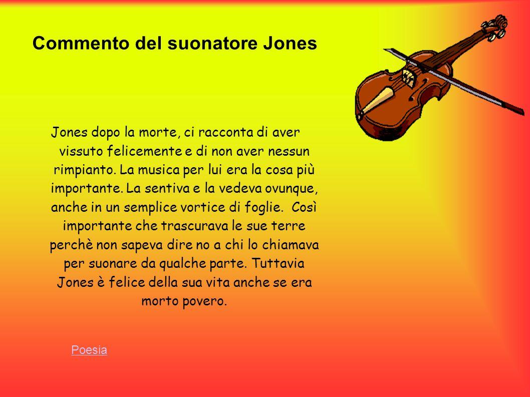 Commento del suonatore Jones
