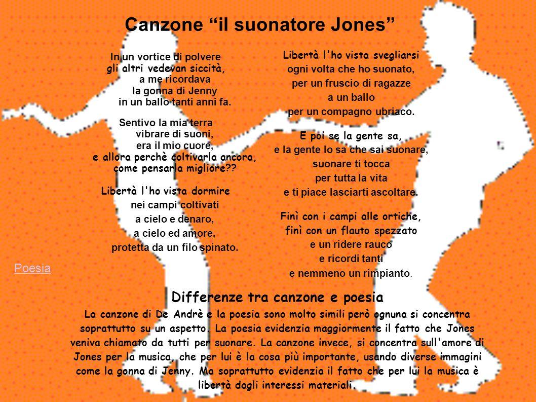 Canzone il suonatore Jones
