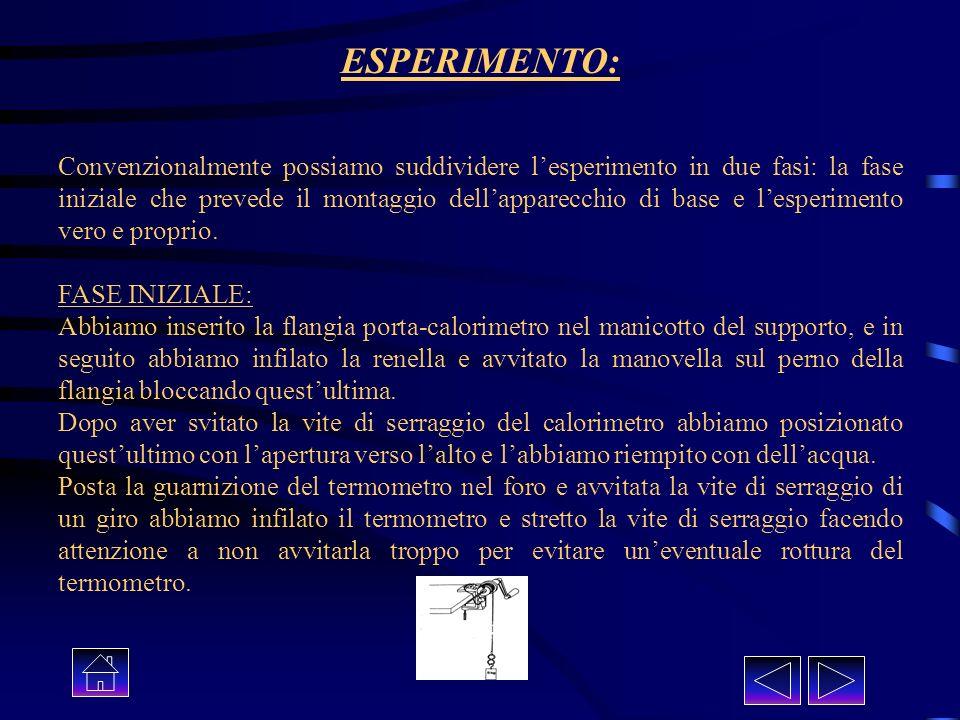 ESPERIMENTO: