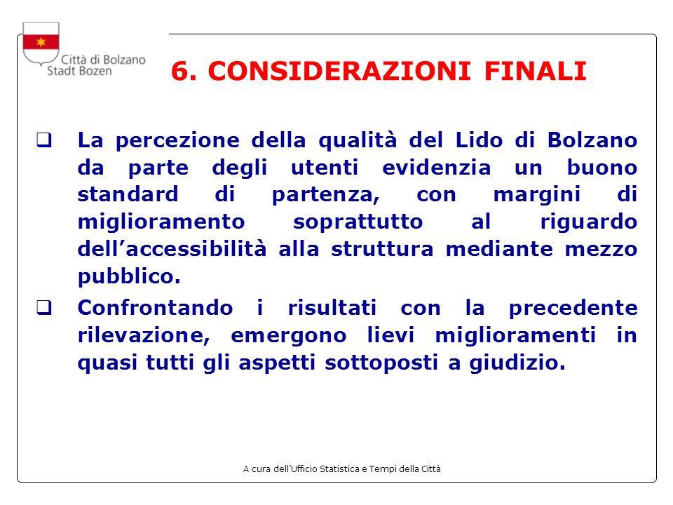 6. CONSIDERAZIONI FINALI