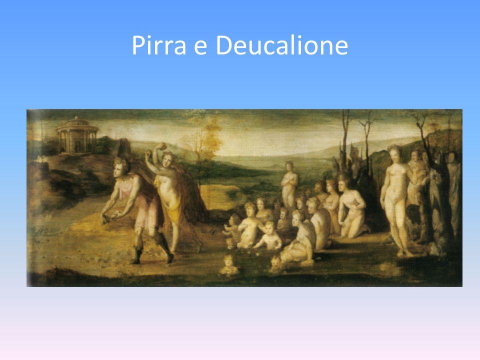 Pirra e Deucalione