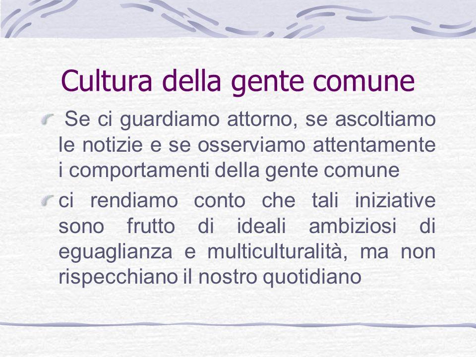Cultura della gente comune